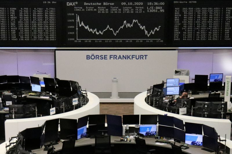 European shares track Asia gains on rebound optimism