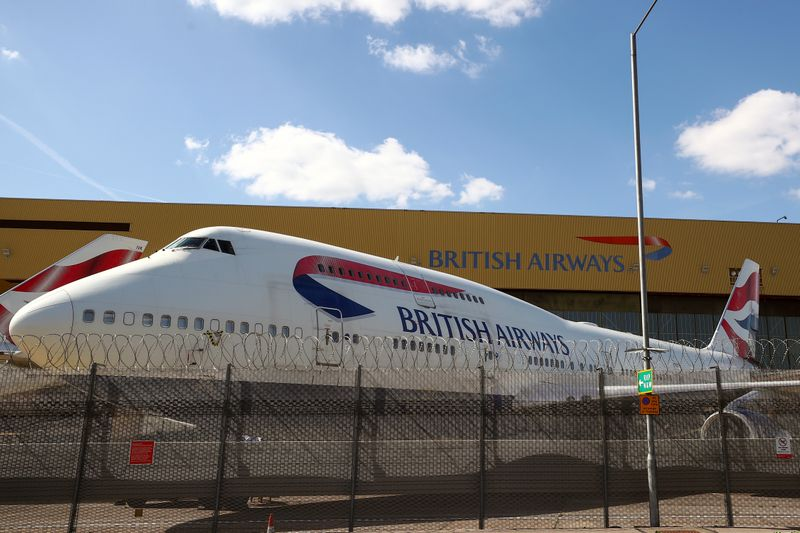 © Reuters. LE NOUVEAU PATRON D'IAG CHANGE LE DIRECTEUR DE BRITISH AIRWAYS