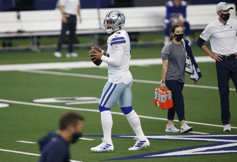© Reuters. NFL: New York Giants at Dallas Cowboys