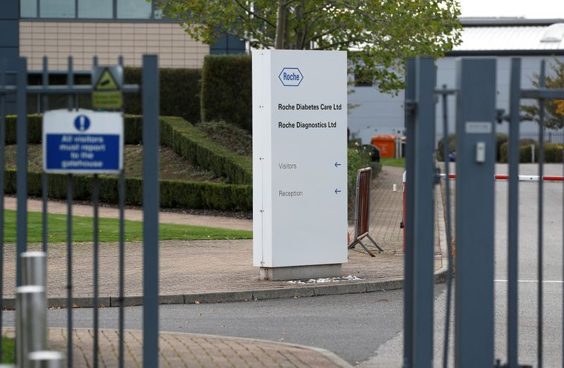Roche sees problems from warehouse glitch in Britain 'cleared out' by weekend