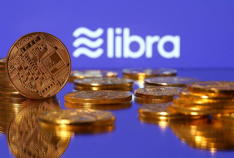 © Reuters. FILE PHOTO: Libra logo in illustration picture