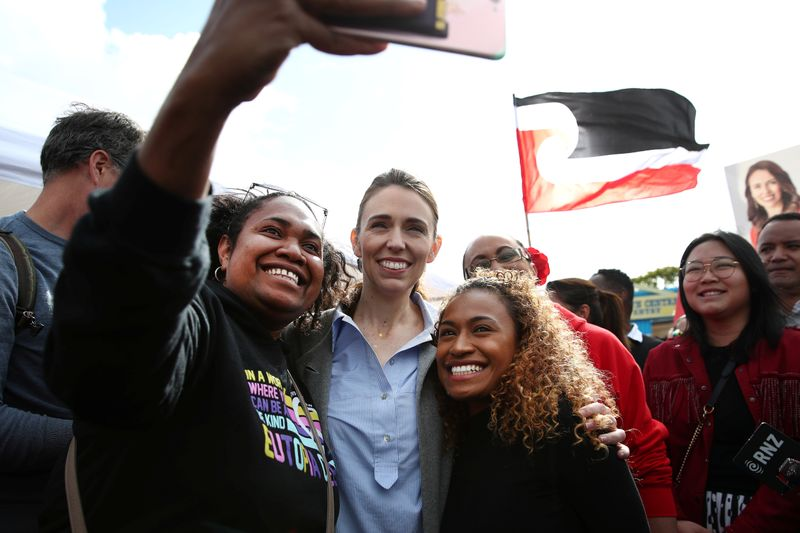 New Zealand's Ardern storms to re-election with 'be strong, be kind' mantra