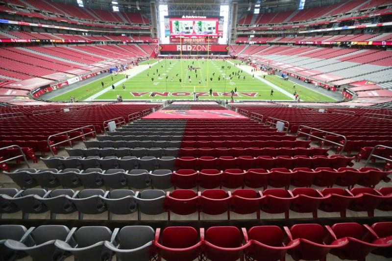 © Reuters. FILE PHOTO: NFL: Washington Football Team at Arizona Cardinals