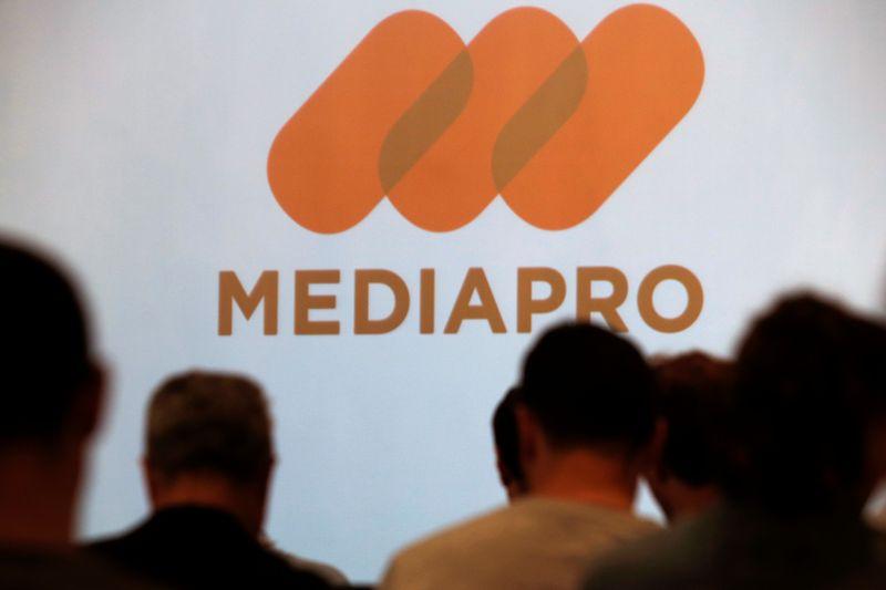 © Reuters. FOOTBALL: MEDIAPRO ANNONCE UNE PROCÉDURE DE CONCILIATION AVEC LA LFP