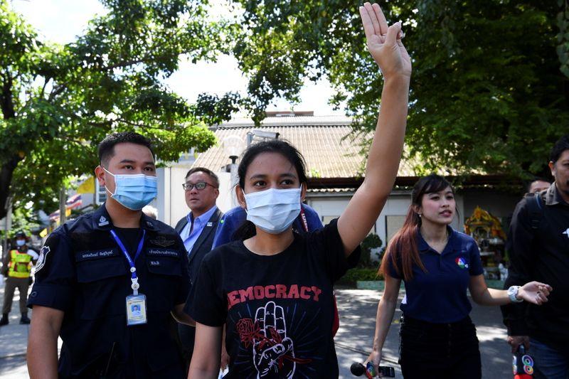© Reuters. تايلاند ترفع إجراءات الطوارئ الهادفة لوقف الاحتجاجات