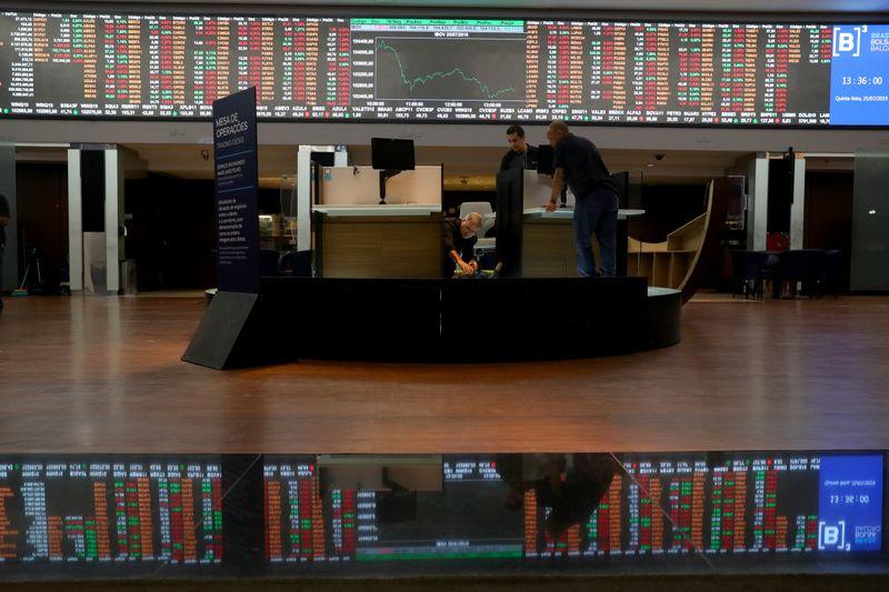 © Reuters. Bolsa de valores de São Paulo