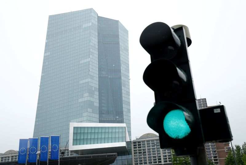 © Reuters. FILE PHOTO: FILE PHOTO: ECB headquarters in Frankfurt