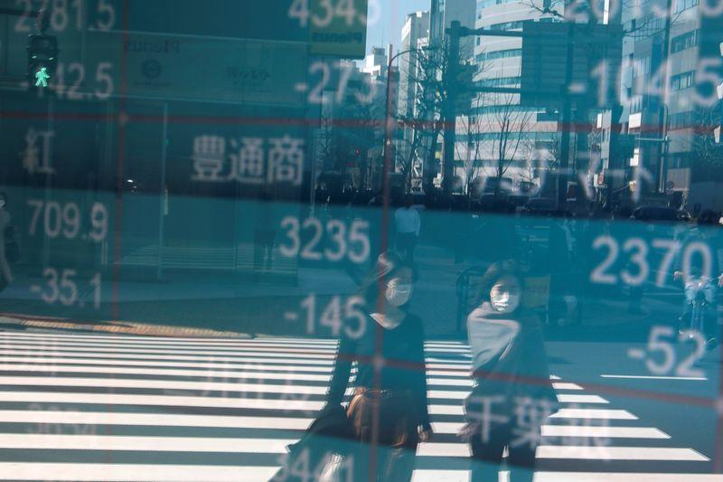 Lockdown anxiety drags stocks sharply lower; dollar rises