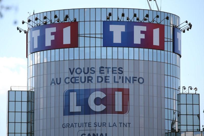 © Reuters. TF1: HAUSSE DES RECETTES PUBLICITAIRES AU T3