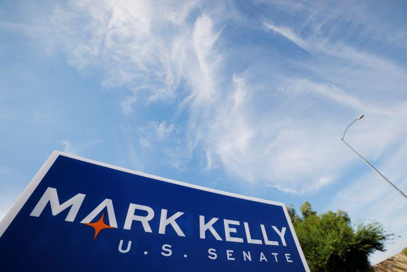 Democratic challenger Kelly holds steady lead in Arizona U.S. Senate race: Reuters/Ipsos poll