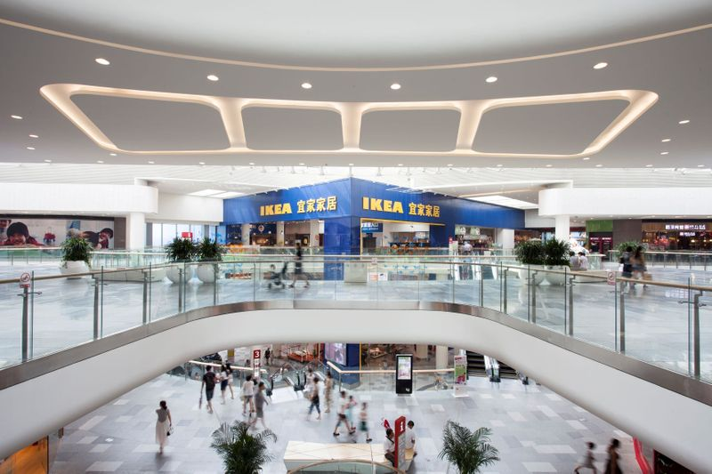 イケアのモール運営会社、店舗増設計画は健在 来店客は回復