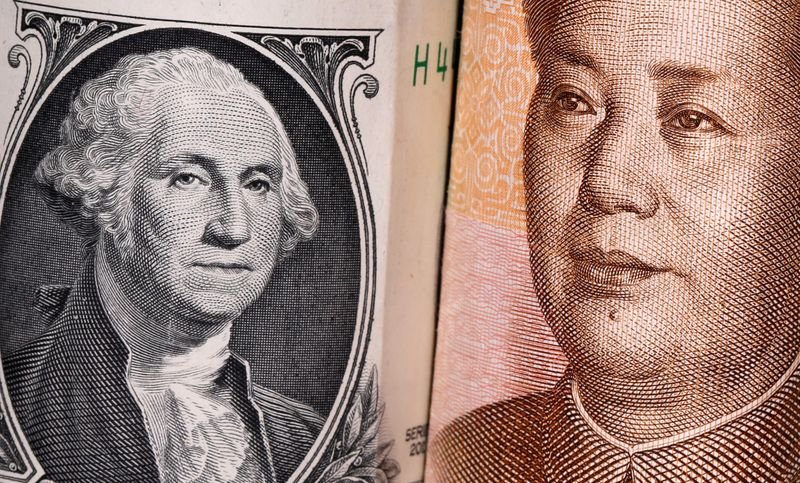 Exclusive: Major Chinese state banks seen swapping dollars for yuan in forward market - traders