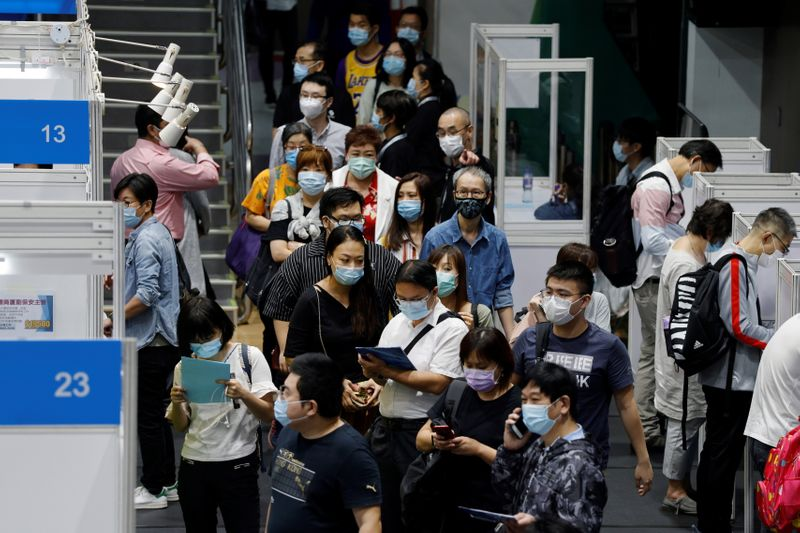 © Reuters. LA CHINE VISE UNE CROISSANCE SOUTENUE ET SAINE POUR 2021-2025