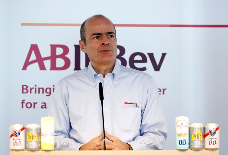 AB InBev CEO dismisses speculation he is stepping down soon