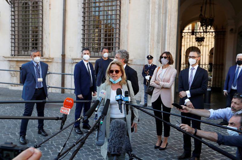 © Reuters. ROME DIT N'AVOIR COMMIS AUCUNE FAUTE EN LAISSANT ENTRER DANS L'UE LE SUSPECT DE NICE