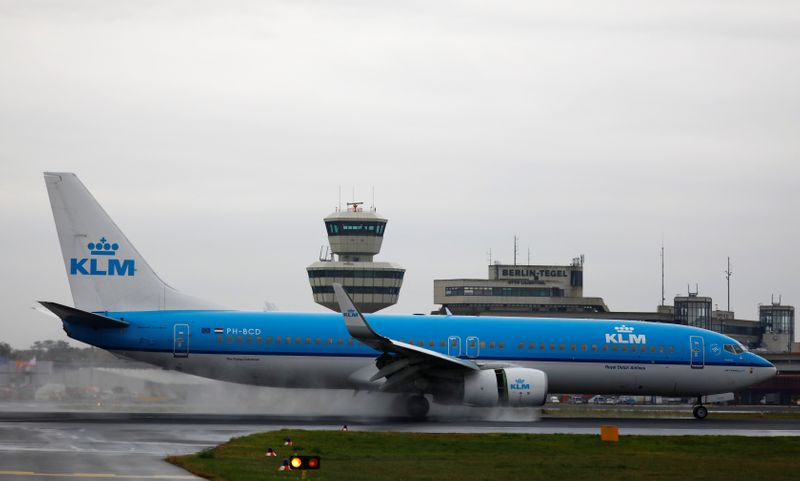 Netherlands puts KLM bailout on hold after pilots reject wage freeze