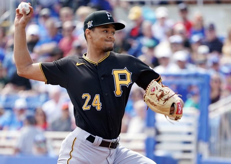 © Reuters. MLB: Spring Training-Pittsburgh Pirates at Toronto Blue Jays