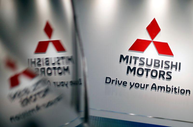 © Reuters. MITSUBISHI MOTORS ACCUSE UNE PERTE TRIMESTRIELLE DUE AU CORONAVIRUS