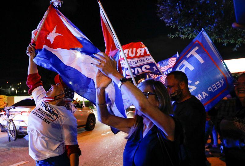 Florida Latinos boost Trump's margin of victory in battleground state