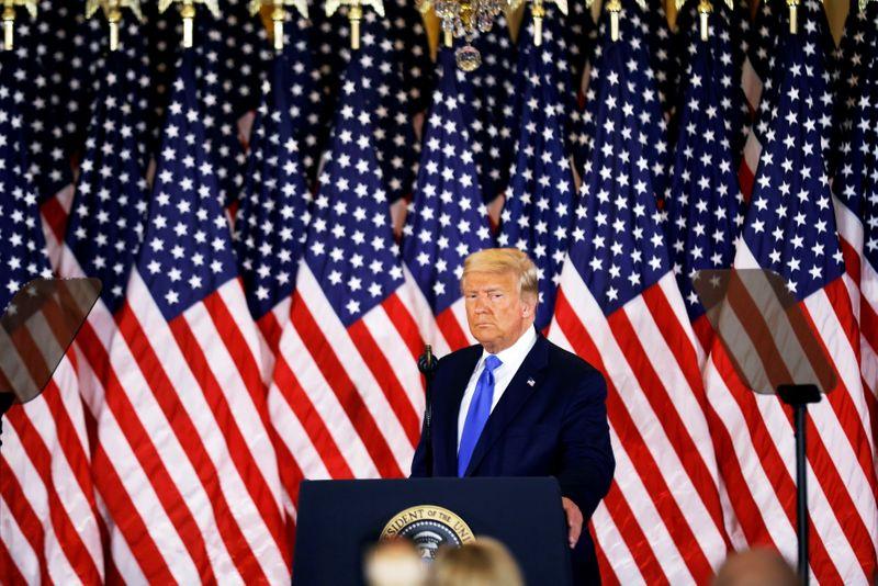 © Reuters. 2020 U.S. presidential election in Washington D.C.