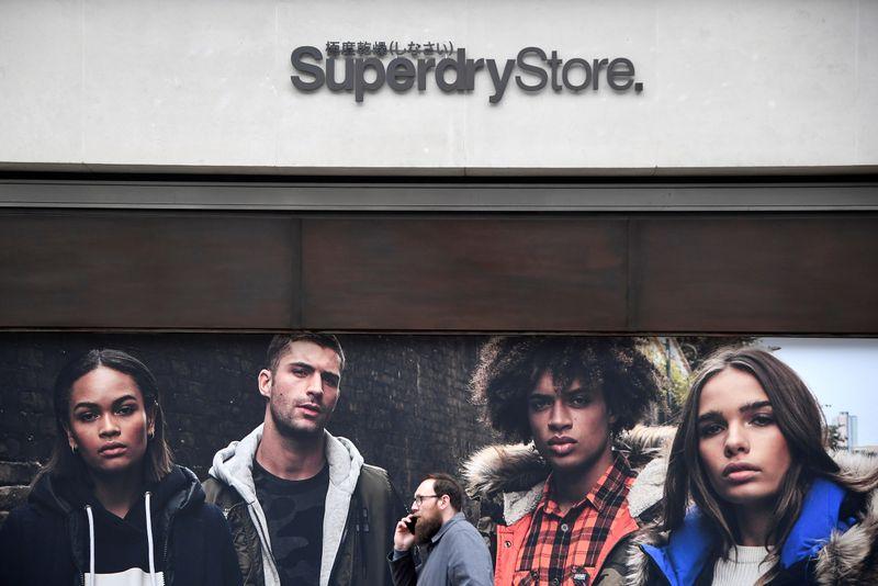 Superdry's revenue falls as virus curbs hit footfall