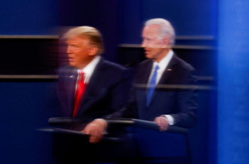 Biden ultrapassa Trump na Geórgia e Pensilvânia e se aproxima da Casa Branca