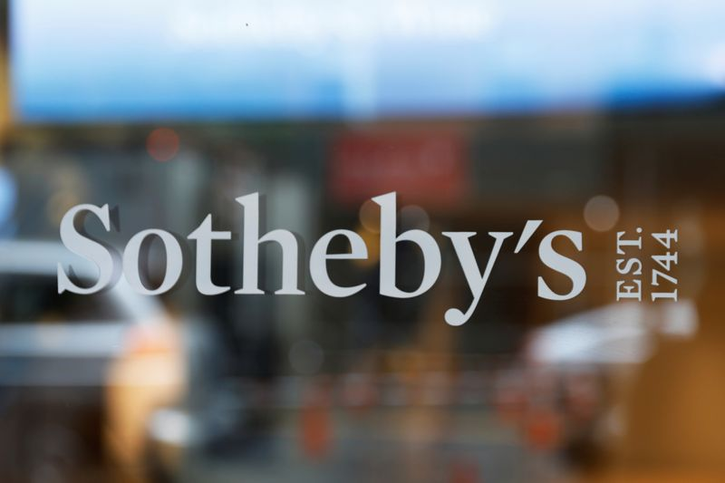 New York sues Sotheby's over unpaid sales taxes