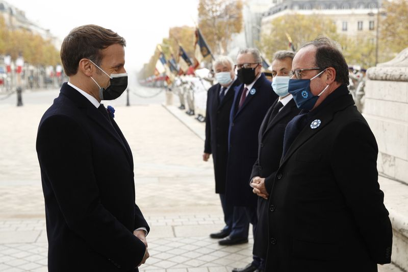 Ex French President Hollande asks Macron: 'How are you doing? Is it not too hard right now?'