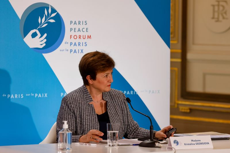 IMF's Georgieva says G20 should synchronize investments to achieve faster growth