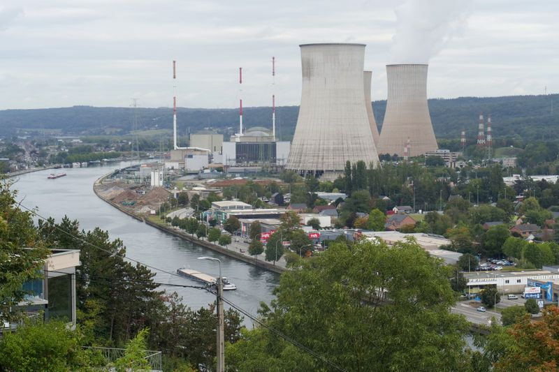 © Reuters. ENGIE RENONCE À PROLONGER SES CENTRALES NUCLÉAIRES EN BELGIQUE