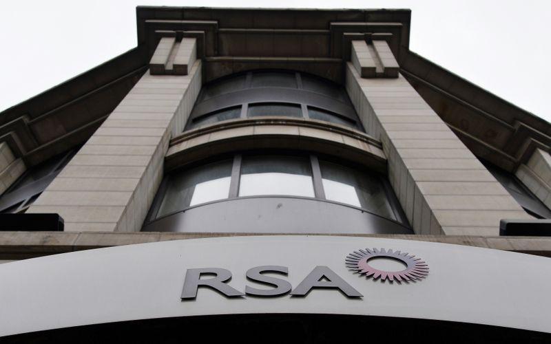 © Reuters. LA COMPAGNIE D'ASSURANCE RSA REÇOIT UNE OFFRE D'ACHAT DE £7,2 MILLIARDS