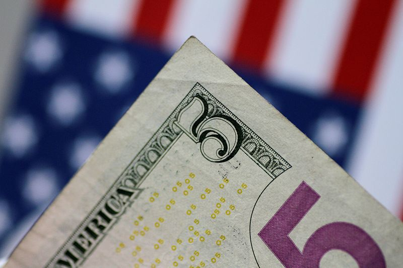 Dollar up on COVID-19 case rise, gains curbed by Fed easing expectations