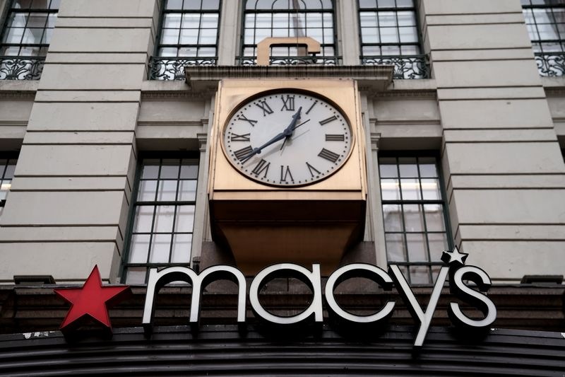 © Reuters. MACY'S À SUIVRE À LA BOURSE DE NEW YORK