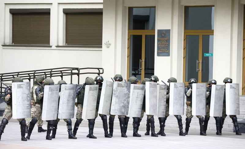 Dozens detained in Belarus protests: rights group