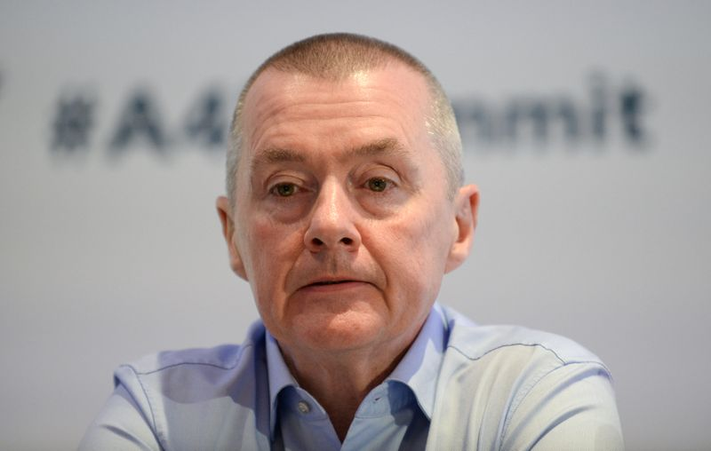 IATA Former IAG boss Walsh named to head airline body IATA By Reuters
