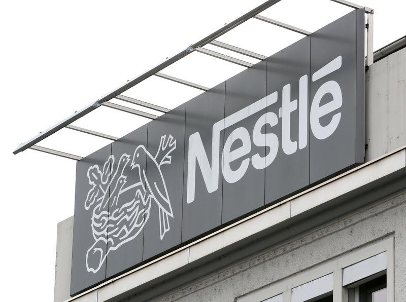 © Reuters. NESTLÉ CÈDE SA MARQUE YINLU À FOOD WISE