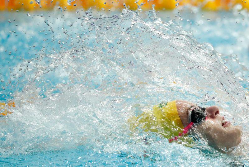 © Reuters. Swimming - 18th FINA World Swimming Championships
