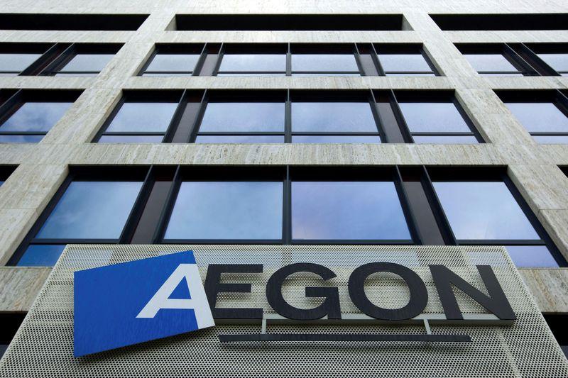 © Reuters. L'ASSUREUR AEGON VA VENDRE SES ACTIVITÉS D'EUROPE CENTRALE POUR LEVER DU CASH