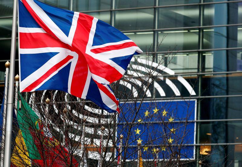 © Reuters. BREXIT: L'UE A PRÉSENTÉ UNE