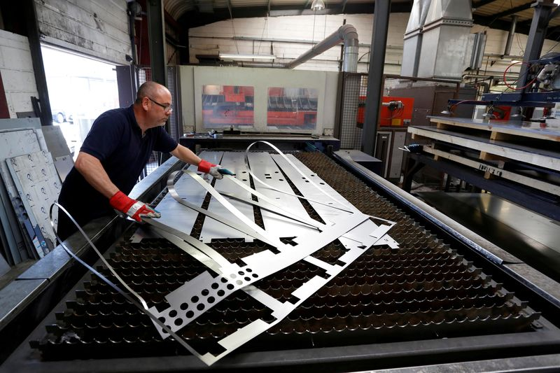 UK factory PMI shows fastest growth since 2017...