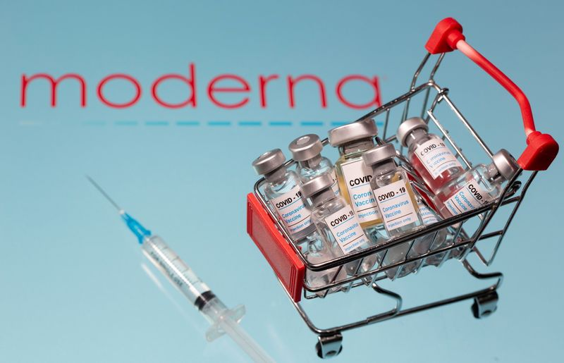 © Reuters. A small shopping basket filled with vials labeled