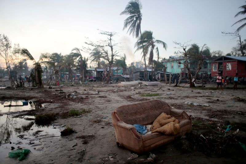 © Reuters. FILE PHOTO: Aftermath of Hurricane Iota in Bilwi
