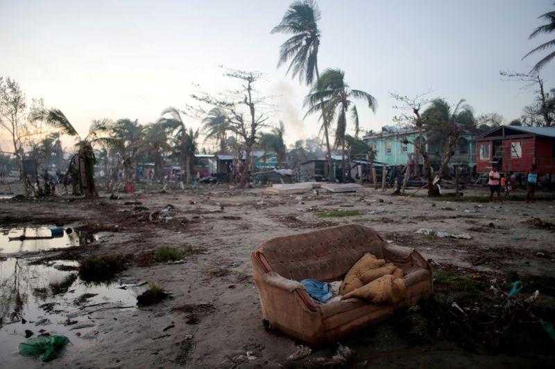 © Reuters. FILE PHOTO: Aftermath of Hurricane Iota in Bilwi