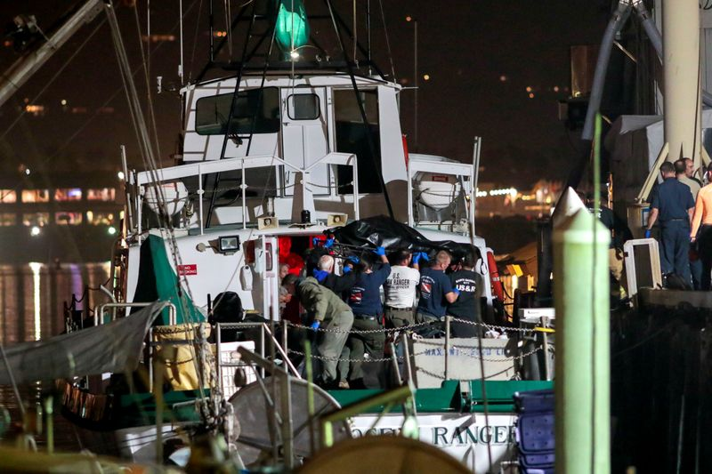California dive boat captain charged with manslaughter in maritime disaster