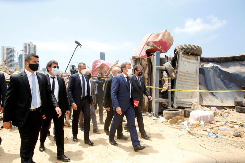 © Reuters. LA FRANCE ORGANISE UNE CONFÉRENCE POUR LE LIBAN FACE À LA PARALYSIE POLITIQUE