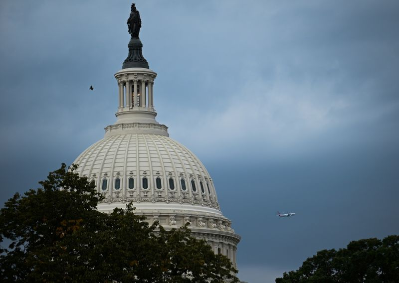 © Reuters. FILE PHOTO: The U.S. Capitol building dome is seen in Washington