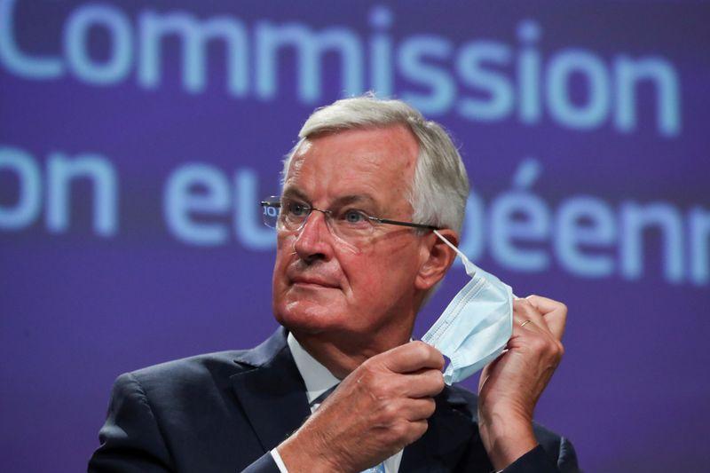 © Reuters. BREXIT: LES CONDITIONS D'UN ACCORD NE SONT PAS RÉUNIES, DIT BARNIER