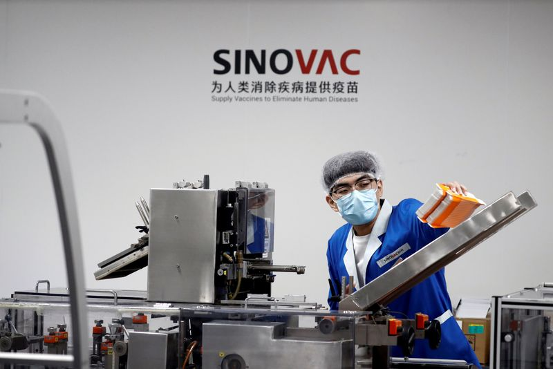 Sinovac secures $515 million funding to boost COVID-19 vaccine production
