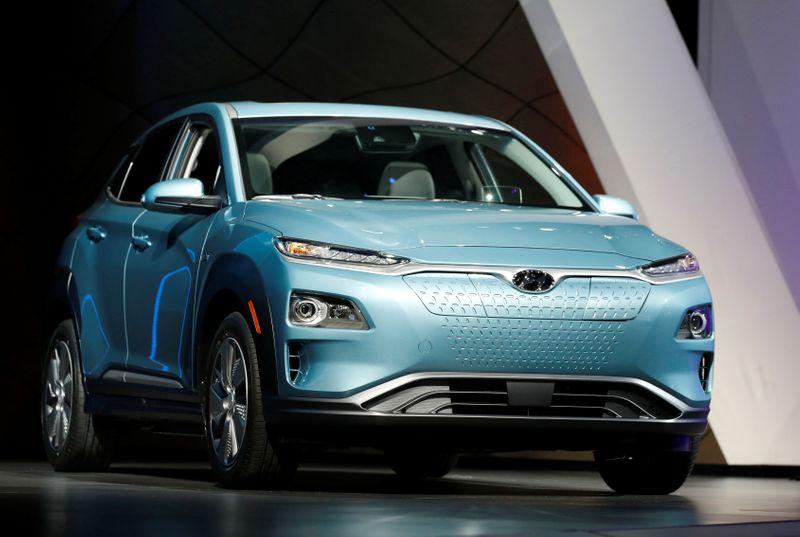 Hyundai Motor to recall Kona EV, Nexo hydrogen SUVs to fix brakes