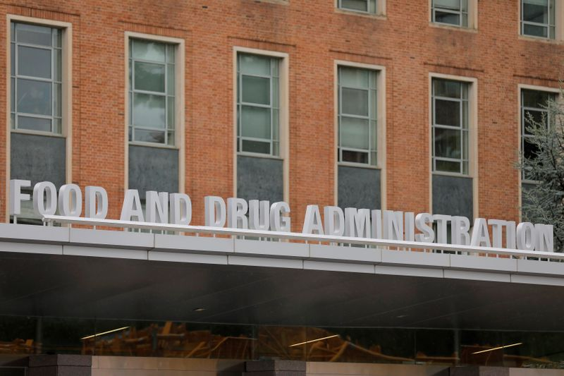 © Reuters. Sede della Food and Drug Administration (FDA) a White Oak